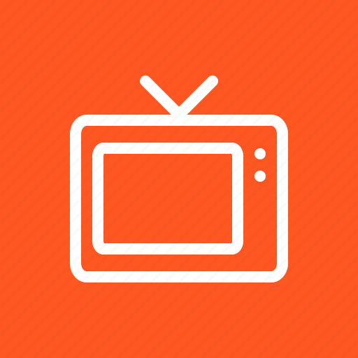 antenna, lcd, television, tv icon