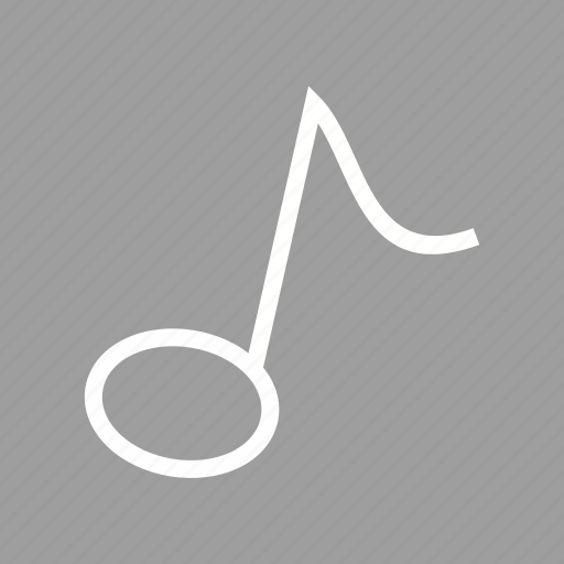 music, note, song, tune icon