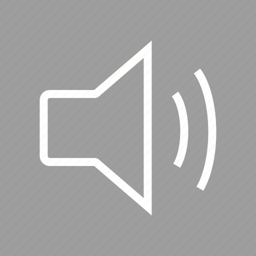 high, low, speaker, volume icon