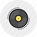 disc, dj, phonograph, record, vinyl icon