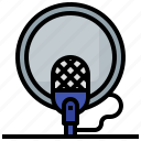 entertainment, microphone, music, recording, sound, waves