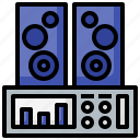 entertainment, music, sound, stereo, waves