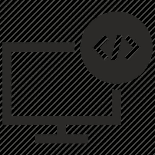 api, code, listing, program, source icon
