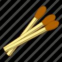 fire, flame, light, matches