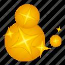 gold, idea, light, star
