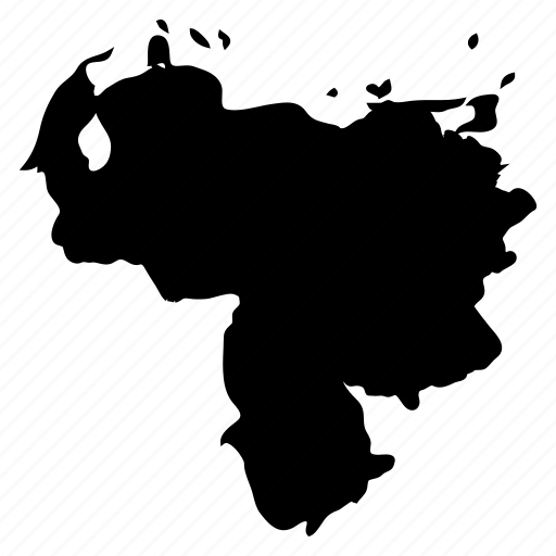 nation, south america, venezuela, venezuela map, venezuelan icon