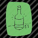 alochol, asian, bar, bottle, korean, shotglass, soju