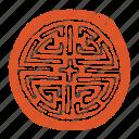 asian, asian pattern, dojang, korean, korean seal