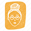 asian, asian woman, bored, korean, korean woman, woman icon