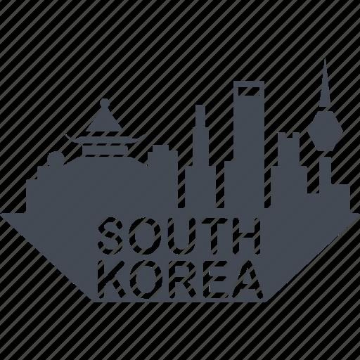 a country, asia, east, korean architecture, koreans, seoul, south korea icon
