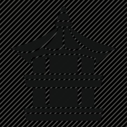 Architecture, culture, design, illustration, korean, pagoda icon - Download on Iconfinder
