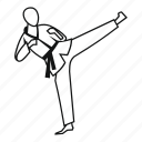 design, fight, fighter, fu, martial, master, wushu icon