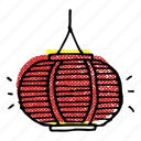 asian, asian lantern, chinese lantern, korean, lantern, paper lantern icon