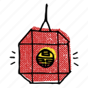 asian, asian lantern, chinese lantern, korean, lantern icon