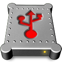 usb, hd icon