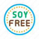 agricultural, farm, food, free, harvester, product, soy icon