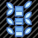 bamboo, botanical, nature, plant icon