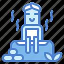 relax, sauna, spa, treatment icon