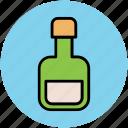 bottle, liquid bottle, lotion, oil bottle, olive oil, spa bottle, spa treatment icon