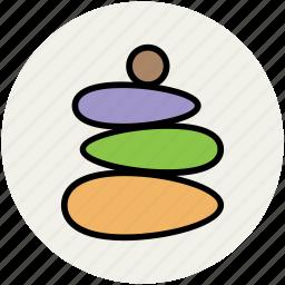 hot stones, pebbles, spa, spa stones, spa treatment, stone massage, stone treatment icon