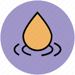 drop, droplet, liquid drop, oil drop, sauna, spa, water drop icon