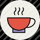 coffee, coffee cup, cup, hot, hot tea, tea, tea cup icon