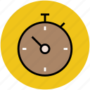 chronometer, chronometer clock, stopwatch, time, timepiece, timer icon