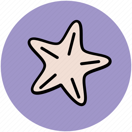 massage ring, sea star, spa, spa and relaxation, star, starfish icon