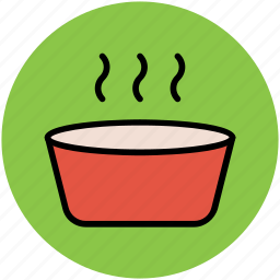 bowl, cup, green tea, hot tea, medicine bowl, spa bowl, tea cup icon