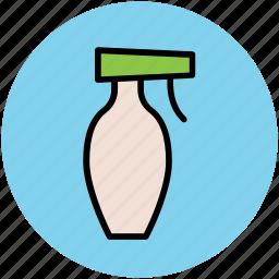 cleaning spray, salon spray, spray bottle, sprayer, water spray, wiping spray icon