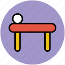 massage bed, relaxation, rest, sleep, spa bed, spa furniture icon