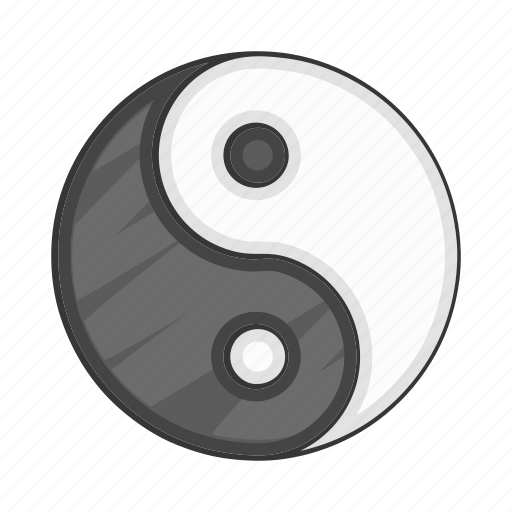 balance, cartoon, culture, harmony, religion, sign icon