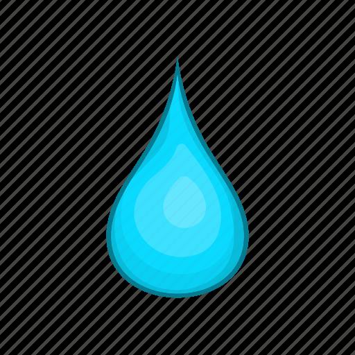 blue, cartoon, drop, liquid, nature, spa, water icon