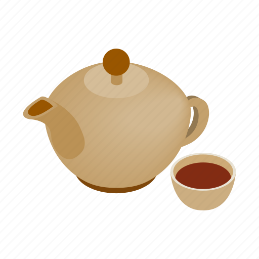 beauty, cup, health, healthy, isometric, spa, teapot icon