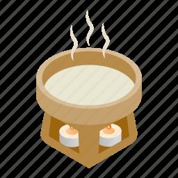 basin, bob, bowl, cup, light, pan, water icon