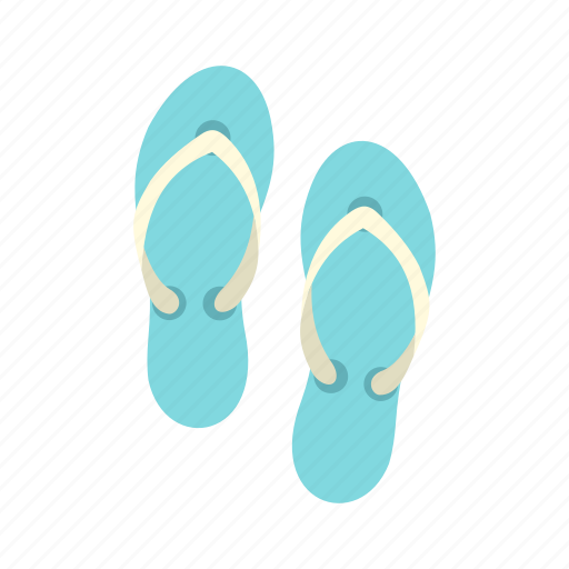 beach, beauty, casual, clothing, design, flipflop, long icon