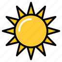 daylight, daystar, planet, sun, sunlight icon