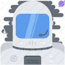 astronomy, cosmonaut, discovery, space, star, suit icon