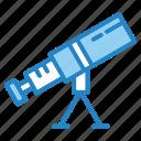astronomy, cosmos, science, space, telescope icon