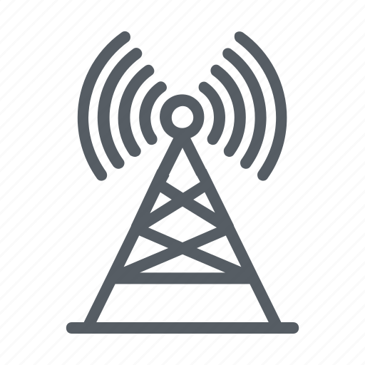Communication tower, signal tower, wifi antenna, wifi tower, wireless antenna icon - Download on Iconfinder