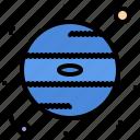 astronaut, astronomy, cosmonaut, neptune, planet, space, star icon