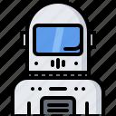 astronaut, astronomy, cosmonaut, helmet, space, spacesuit icon