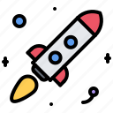 astronaut, astronomy, cosmonaut, rocket, space, star icon