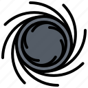 astronaut, astronomy, black, cosmonaut, hole, space icon