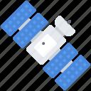 astronaut, astronomy, cosmonaut, satellite, space icon
