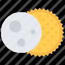 astronaut, astronomy, cosmonaut, eclipse, solar, space, sun icon