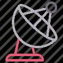 antenna, dish, satellite, signal, wireless