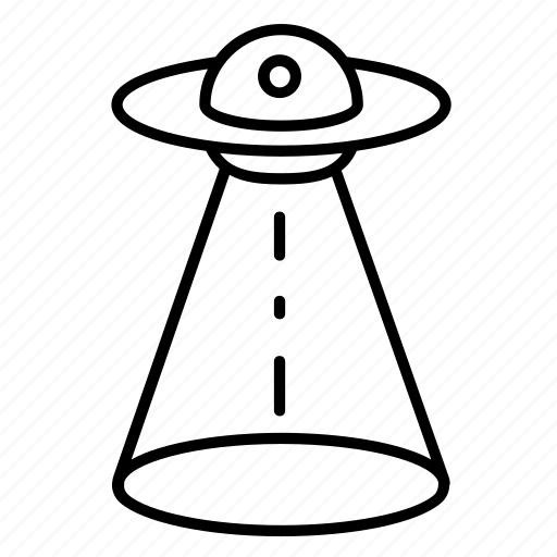 abduction, alien, cosmos, flying, saucer, space, ufo icon