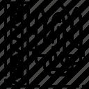 exploratin, launch, nasa, rocket, site, space icon