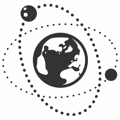 communication, connection, earth, globe, network, orbit, planet icon